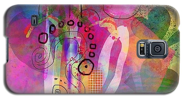 Colorful Galaxy S5 Case - I Love Color, Does It Show by Robin Mead