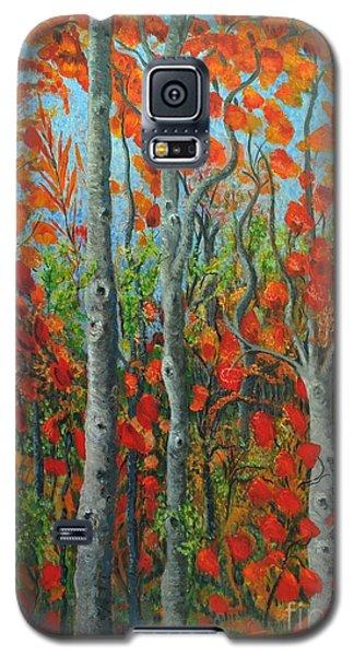 I Love Fall Galaxy S5 Case by Holly Carmichael