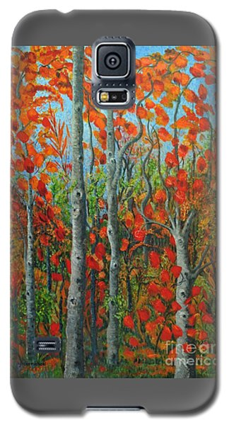 I Love Fall Galaxy S5 Case