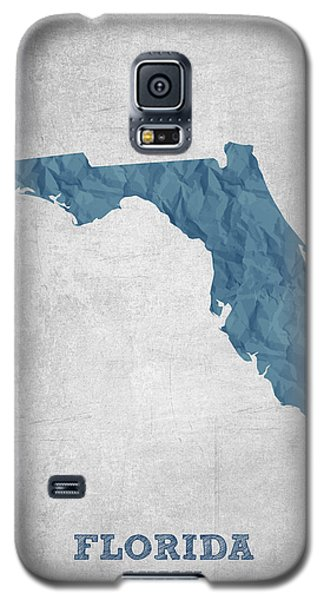 I Love Miami Florida - Blue Galaxy S5 Case by Aged Pixel