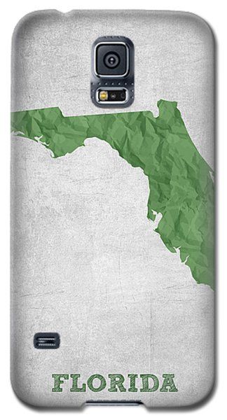 I Love Miami Florida - Green Galaxy S5 Case by Aged Pixel