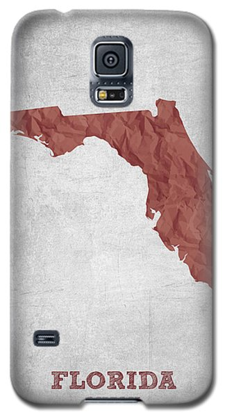 I Love Miami Florida - Red Galaxy S5 Case by Aged Pixel