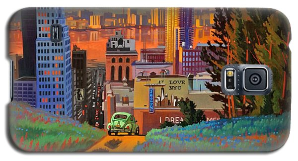 I Love New York City Jazz Galaxy S5 Case by Art James West