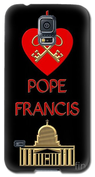 I Love Pope Francis Galaxy S5 Case