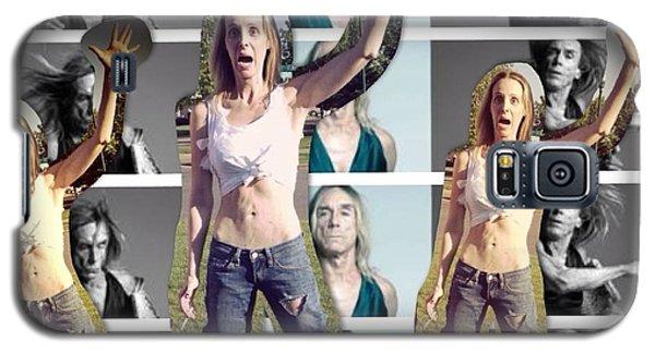 I Love U Iggy Pop Galaxy S5 Case by Lisa Piper