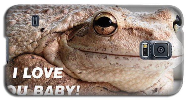 Frog Declaration Of Love Galaxy S5 Case