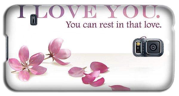 I Love You. Galaxy S5 Case