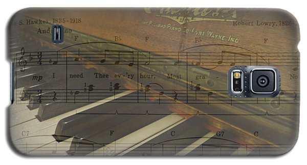 Galaxy S5 Case featuring the photograph I Need Thee Piano by Cindy Wright