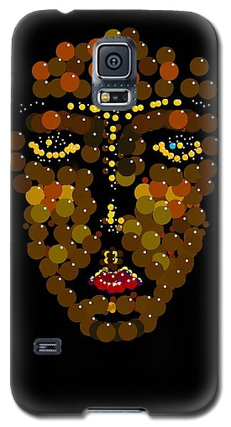 I Phone Face Galaxy S5 Case by R  Allen Swezey