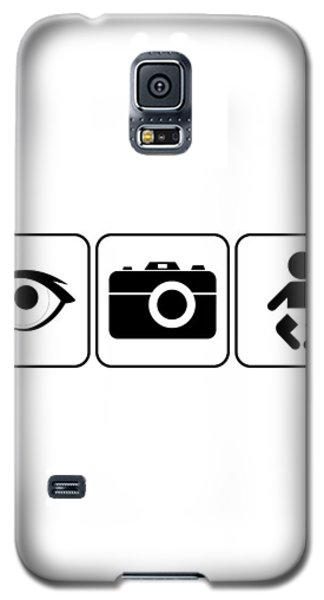 Galaxy S5 Case featuring the digital art I Photograph Babies by Brian Carson