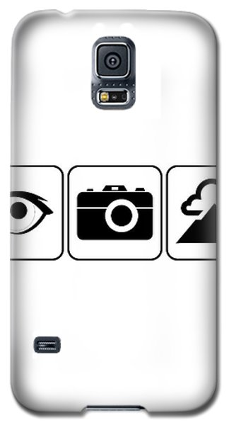 Galaxy S5 Case featuring the digital art I Photograph Landscapes by Brian Carson