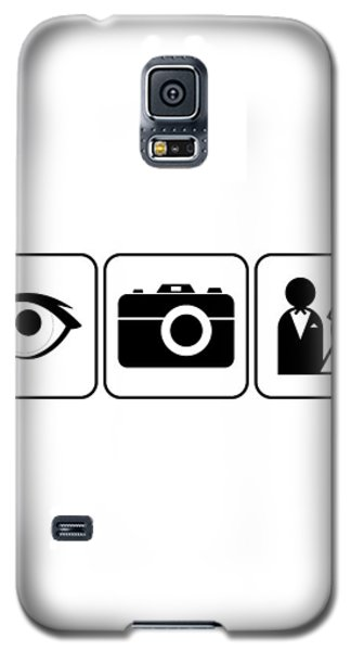Galaxy S5 Case featuring the digital art I Photograph Weddings by Brian Carson