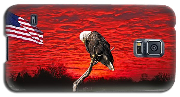 I Pledge Allegiance Galaxy S5 Case by Randall Branham