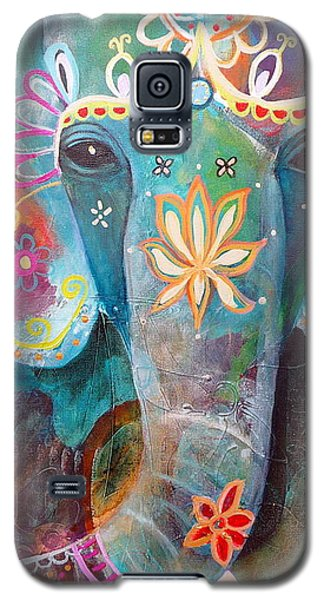 Blue Galaxy S5 Case - I Remember You by Tracy Verdugo
