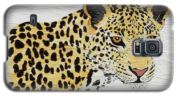 Galaxy S5 Case featuring the painting I See You 2 by Stephanie Grant