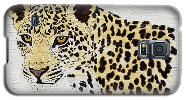 Galaxy S5 Case featuring the painting I See You by Stephanie Grant