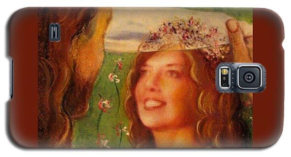 I Will Lift The Veil Galaxy S5 Case by Hazel Holland