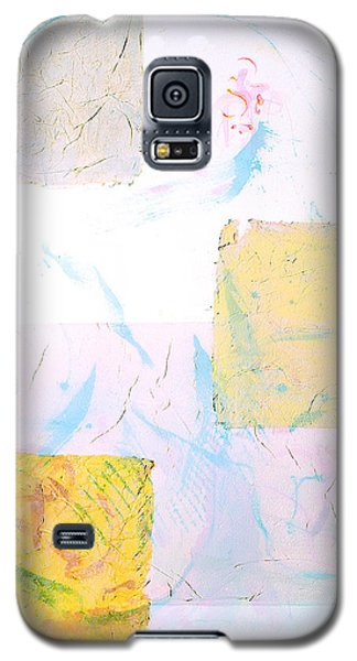Galaxy S5 Case featuring the painting I Wish You Love  Que Reste-t-il De Nos Amours  Tribute To Joao Gilberto by Asha Carolyn Young