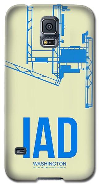 Iad Washington Airport Poster 1 Galaxy S5 Case by Naxart Studio