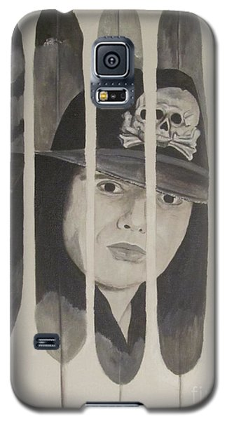 Galaxy S5 Case featuring the painting Ian Astbury by Jeepee Aero