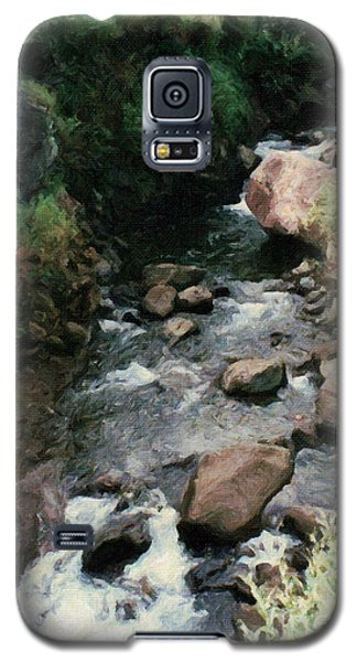 Rocky Stream In Iao Valley Galaxy S5 Case