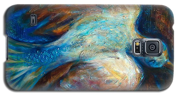 Icarus In The City Galaxy S5 Case by Linda Olsen