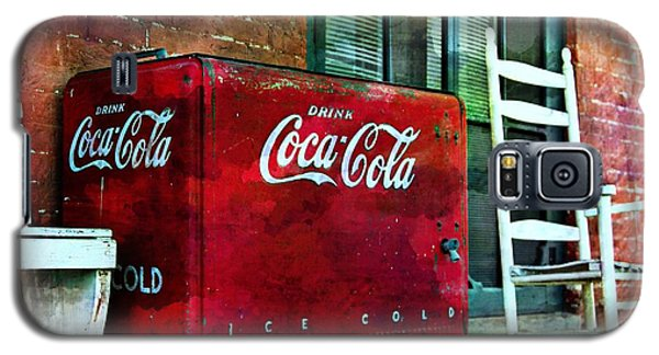 Ice Cold Coca Cola Galaxy S5 Case by Benanne Stiens