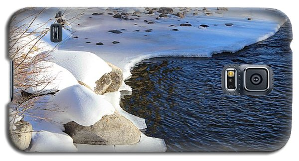 Galaxy S5 Case featuring the photograph Ice Cold Water by Fiona Kennard
