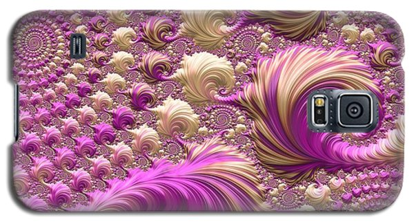 Galaxy S5 Case featuring the digital art Ice Cream Social by Susan Maxwell Schmidt