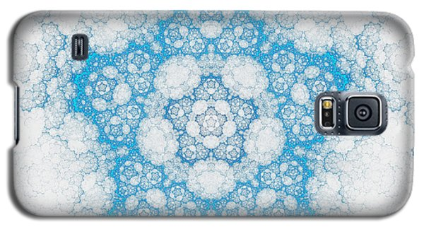 Galaxy S5 Case featuring the digital art Ice Crystals by GJ Blackman