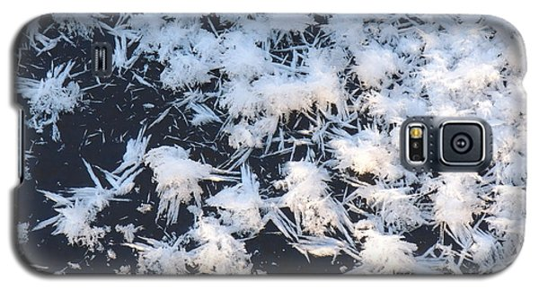 Ice Crystals On The River Galaxy S5 Case
