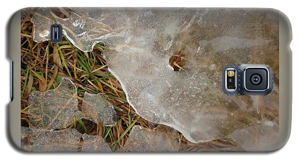 Ice Edges-i Galaxy S5 Case by Patricia Overmoyer
