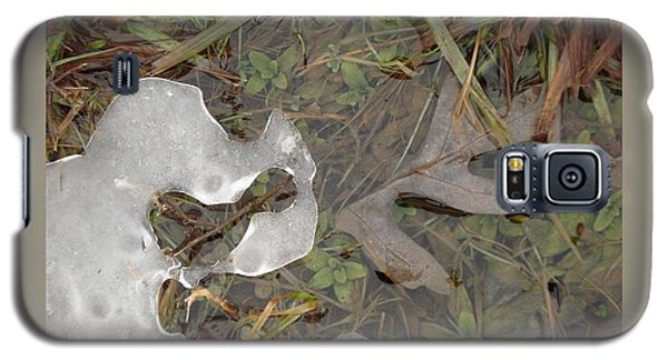 Ice Edges-ii Galaxy S5 Case by Patricia Overmoyer