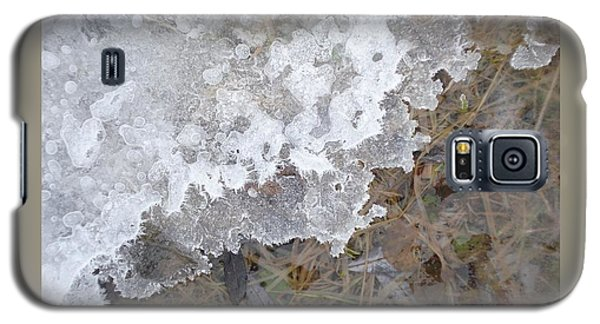 Ice Edges-iv Galaxy S5 Case by Patricia Overmoyer