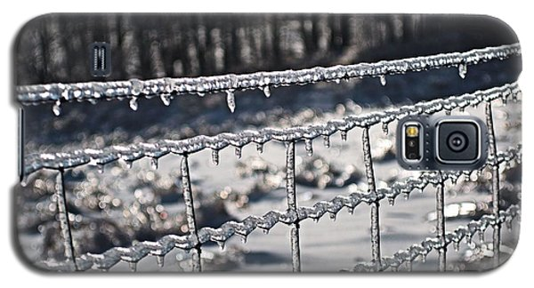 Ice Fence Galaxy S5 Case by Douglas Pike