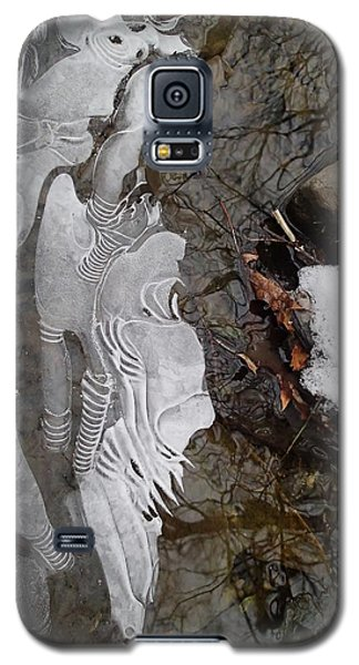Ice Flow Galaxy S5 Case by Robert Nickologianis