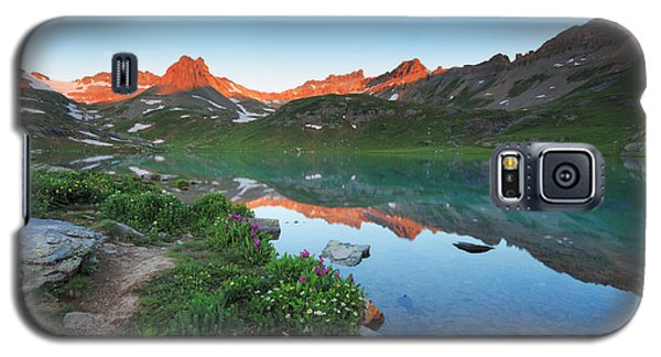 Ice Lake Sunrise Galaxy S5 Case