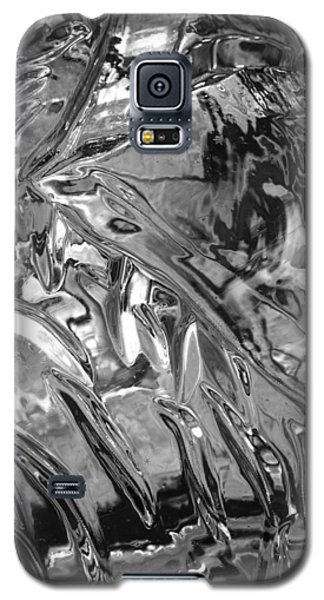 Galaxy S5 Case featuring the photograph Ice Series 14 by John  Bartosik