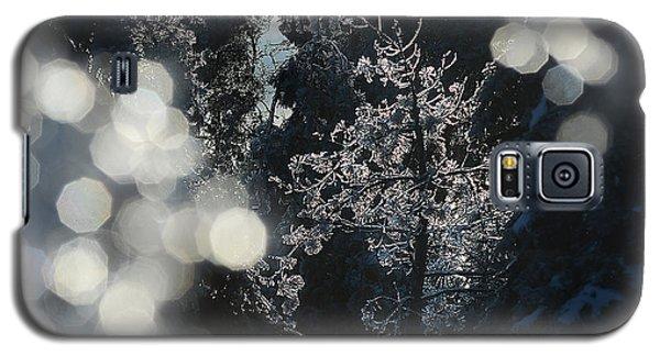 Ice Tree-5074 Galaxy S5 Case