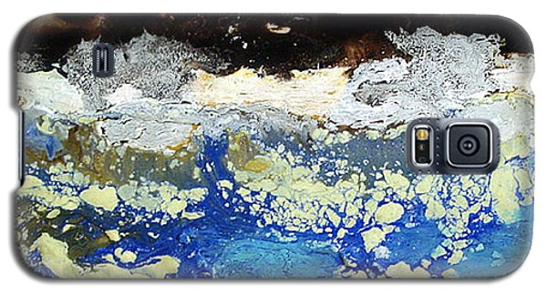 Ice Water Frozen Trees Galaxy S5 Case