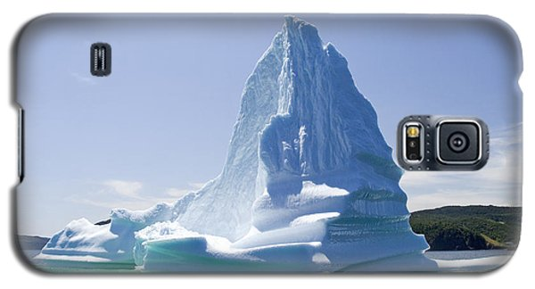 Galaxy S5 Case featuring the photograph Iceberg Canada by Liz Leyden