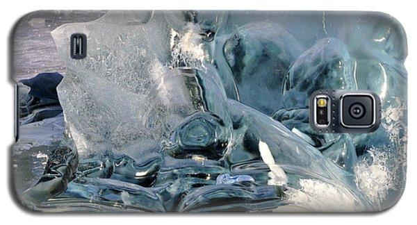 Iceberg Detail Galaxy S5 Case by Cathy Mahnke