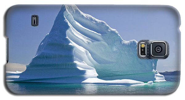 Galaxy S5 Case featuring the photograph Iceberg by Liz Leyden