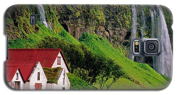 Iceland Farm Falls Galaxy S5 Case by Dennis Cox WorldViews