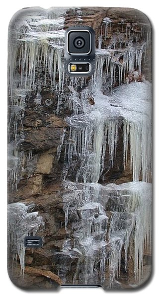 Icicle Cliffs Galaxy S5 Case