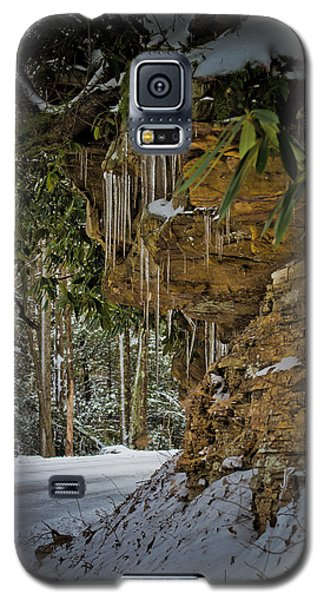 Icicles In Wv Galaxy S5 Case