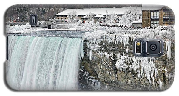 Icicles Over The Falls Galaxy S5 Case