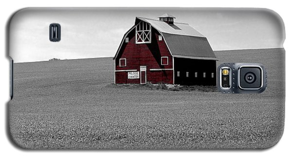 Galaxy S5 Case featuring the photograph Icon Of The Palouse by Sharon Elliott
