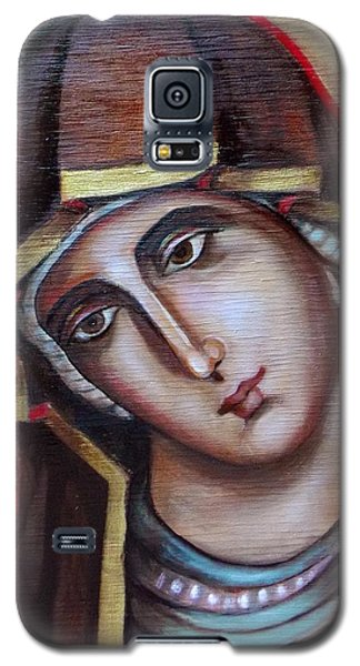 Icon Of Virgin Mary Galaxy S5 Case by Irena Mohr