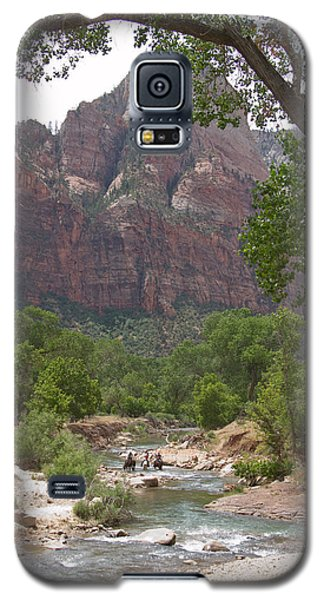 Iconic Western Scene Galaxy S5 Case